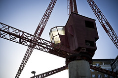 Disused Crane, Rotherhithe