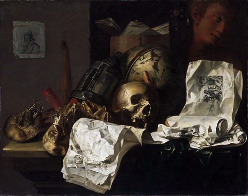 N. L. Peschier - Vanitas [1661] by Gandalf's Gallery