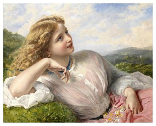 002-El canto de la alondra-Sophie Gengembre Anderson -via tempered-grace