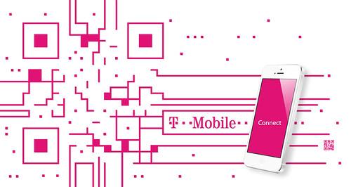 T-mobile QR code design by QRcanvas