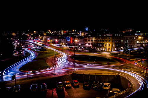 Roundabout Skien