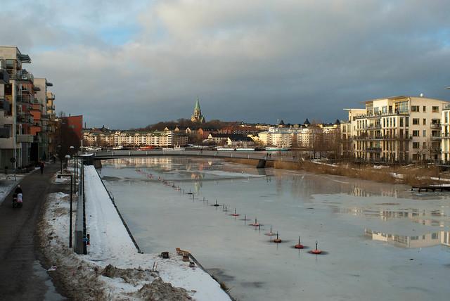 Hammarby kanal, 1 Jan 2013