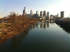Skyline from the Spring Garden Bridge