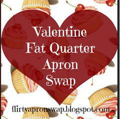 Fat Quarter Apron Swap