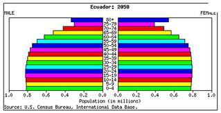 ecaudor population pyramid