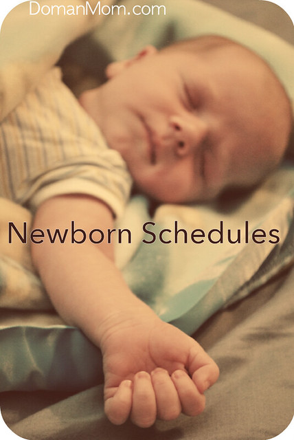 Newborn Schedules