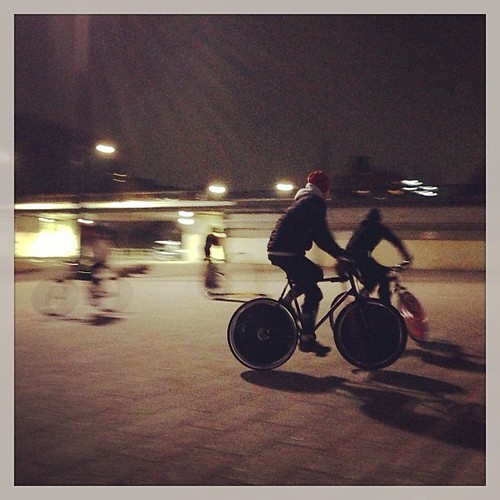 9th, Jan. 2013 at Komazawa park / 1st Wed. night polo in 2013