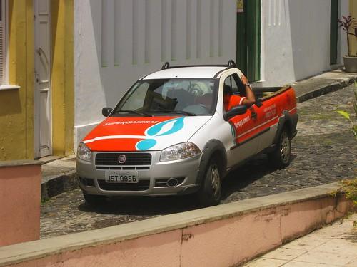 Fiat Strada, SuperGasBras, Salvador, Bahia, Brasil
