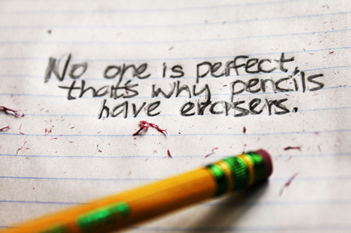 Erasers No One Perfect Quote Favimcom 529053 Infinity Love Flickr