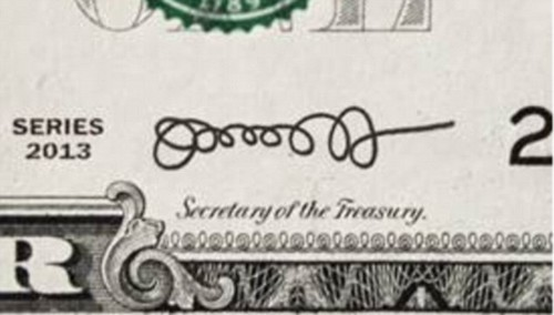 Jack Lew signature