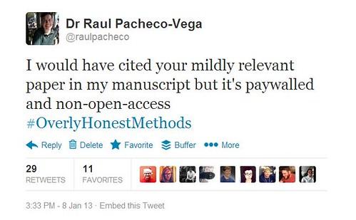 overlyhonestmethods open access
