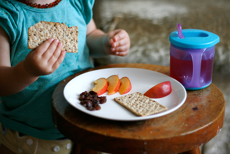 stills, bits + pieces, healthy snack, nectarine, crackers, raisins
