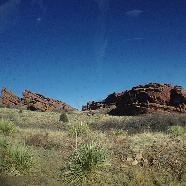 Red rocks!