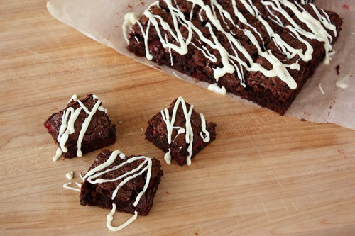 chocolate-raspberry-brownies