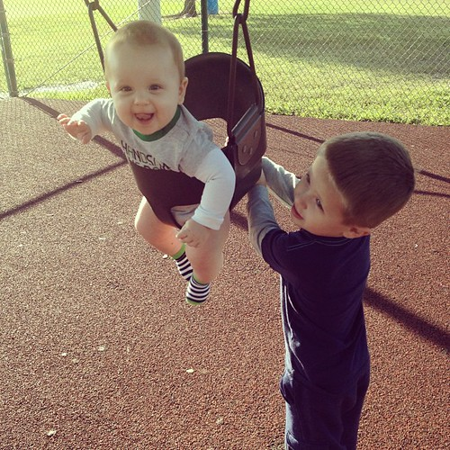 Playing at the park :) @explorerziem