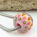 Charm bead : Rosata