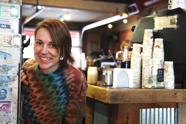 Nikole at City Market Coffeehouse
