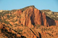 Navajo Sandstone at sunset (Lower Jurassic; northern Kolob Canyons, Zion National Park, Utah, USA) 10
