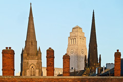 Tower, spires, chimneys