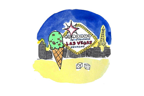 Ice cream in vegas