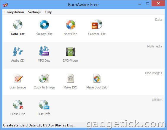 скачать BurnAware 6 бесплатно