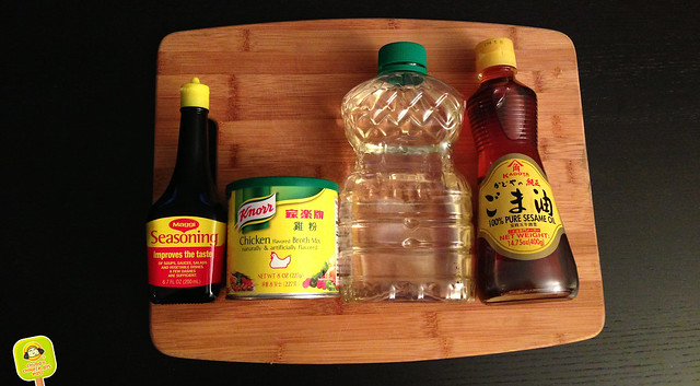 pork & chives dumpling recipe condiments