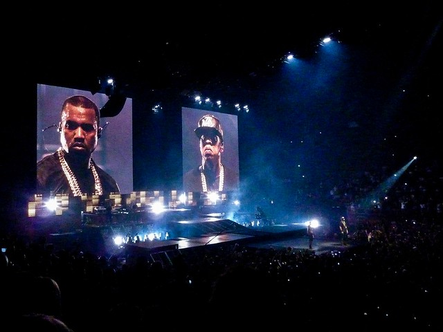 Jay-Z & Kanye West - Watch the Throne Tour, Bercy, Paris (2012)