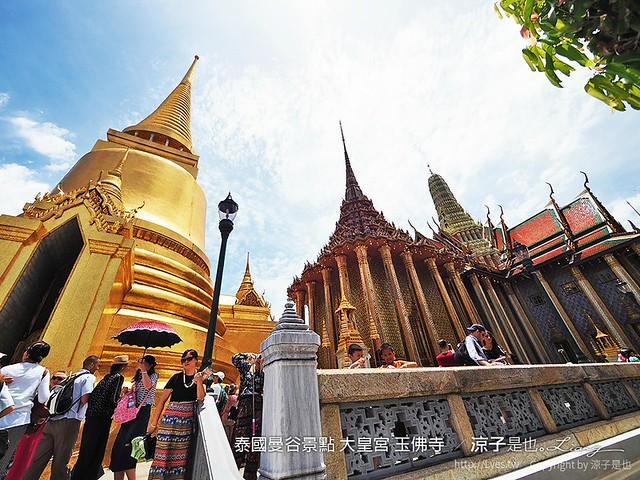 泰國曼谷景點 大皇宮 玉佛寺  91