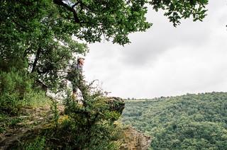 Randonnée dans la vallée du Tarn, sur le GR36 - Carte de France touristique