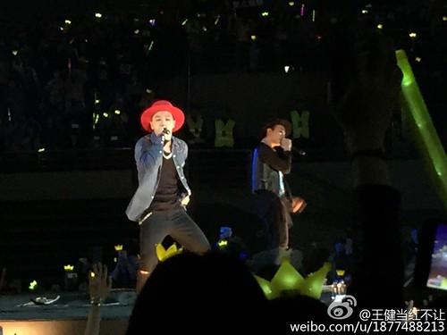 G-Dragon, Seung Ri & Tae Yang - V.I.P GATHERING in Harbin - 21mar2015 - 王健当红不让 - 03
