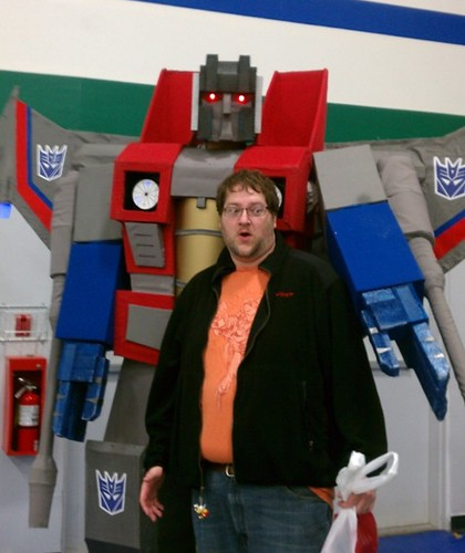 Mike & Starscream