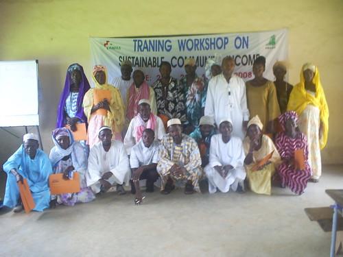 Gambia - il sostegno a distanza con Anpas