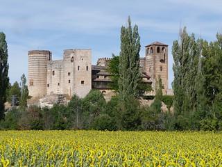 Castillo de Castilnovo, en el Condado de Castilnovo (Segovia).