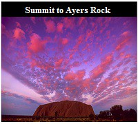 Summit to Ayers Rock 2