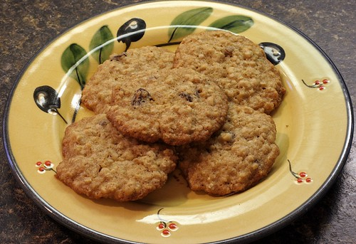 Black Walnut Maple Oatmeal Cookies