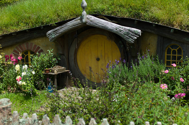 แบบบ้าน Hobbit