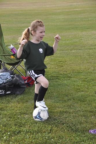 Silly soccer start