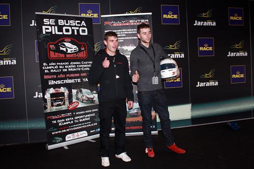 derecha- ganador Anton Perez izquierda reserva Juan Carlos Camuñas