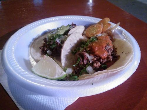 Two Brisket Tacos