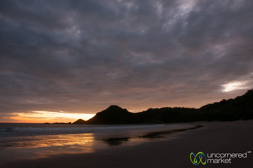 Clouds Roll In at Sunset - Morgan's Rock, Nicaragua