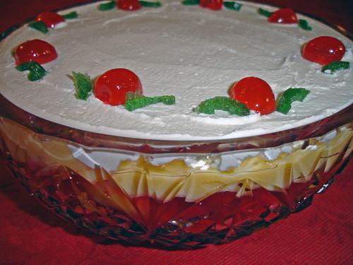 gâteau typique anglais
