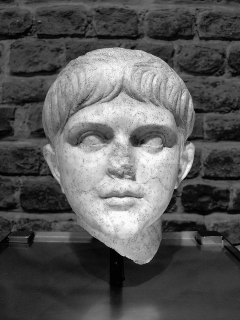 Head of young Nero, from 50 A.D., Romisch-Germanisches Museum, Cologne