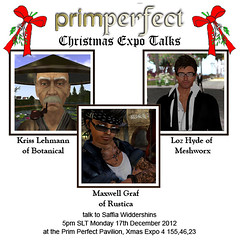 """PrimPerfect """"Christmas Expo Talks"""""""