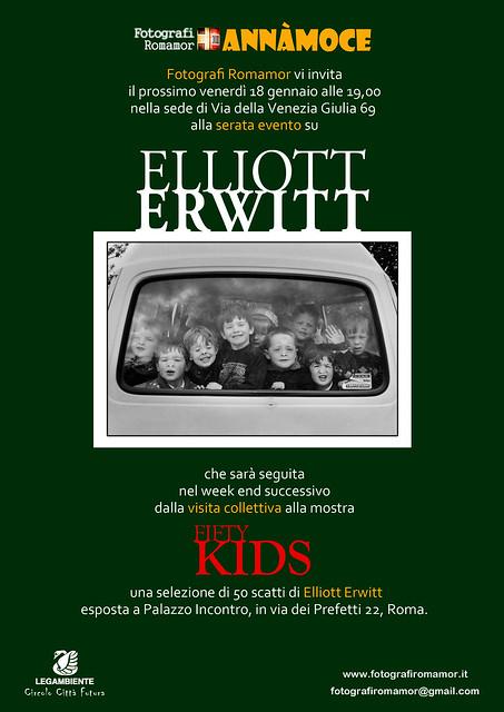Incontro su Elliott Erwitt venerdì 18 e visita mostra
