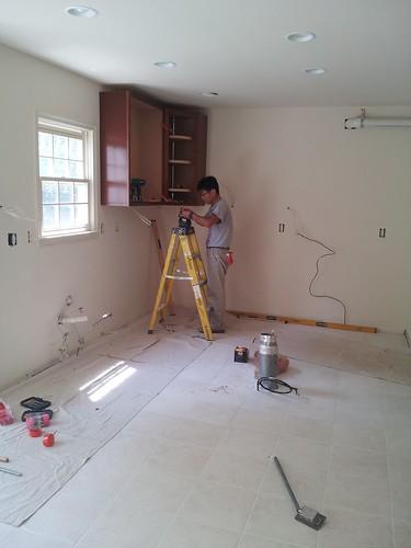 Kitchen Remodeling @ Centreville, VA