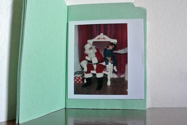 DIY • Vintage Christmas Card Photo Album!