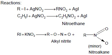 CBSE Class 12 Chemistry Notes: Amines – Methods of Prepration of Nitro Compounds