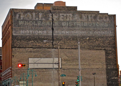 Goll and Frank Ghost Sign, Milwaukee, WI