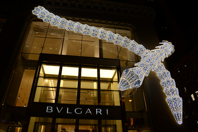 Window Shopping at Bulgari