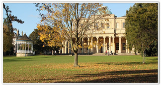 Autumn comes to Pittville Pump Rooms